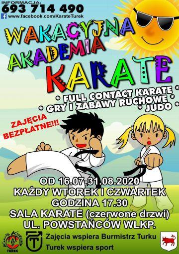 Wakacyjna Akademia Karate