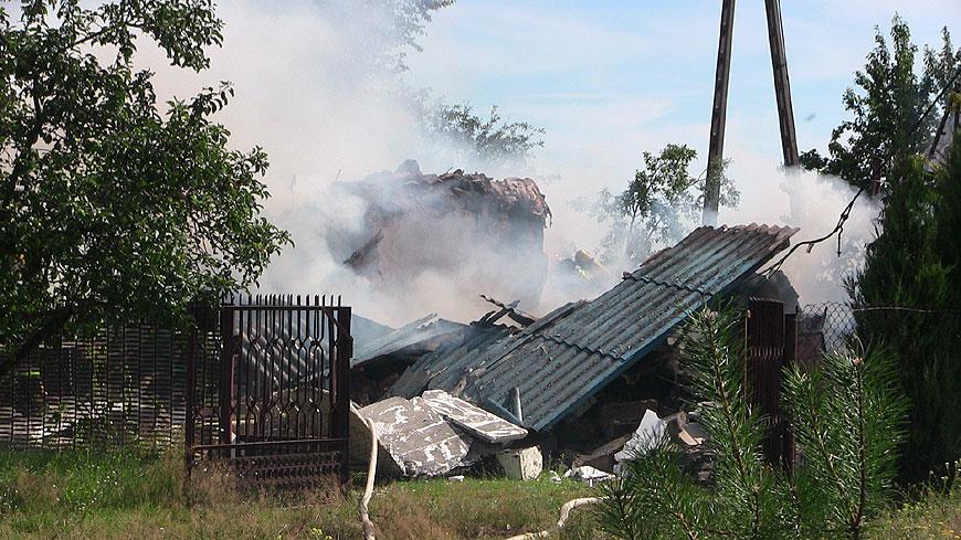 Wideo: Wybuch gazu i śmierć mężczyzny. Tragedia w Zagaju w gminie Dobra.