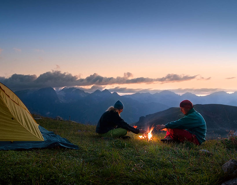 Co zabrać ze sobą na noc w górach?