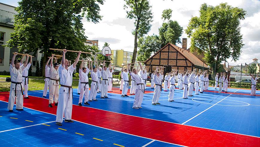 Karatecy ze Strikera na Letnim Obozie Karate w Tucholi