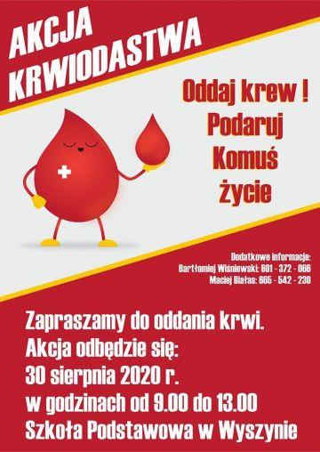 I Akcja krwiodawstwa Wyszyna