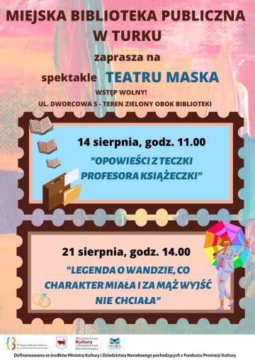 Teatr Maska w Turkowskiej Bibliotece