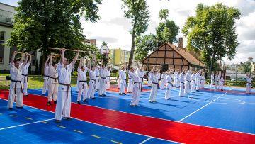 Karatecy ze Strikera na Letnim Obozie Karate w...