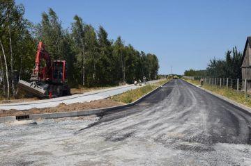Budowa drogi przy terenach inwestycyjnych w...