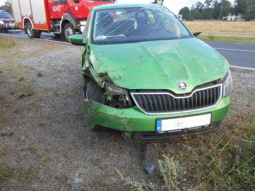 Kolejny wypadek na trasie Turek-Przykona