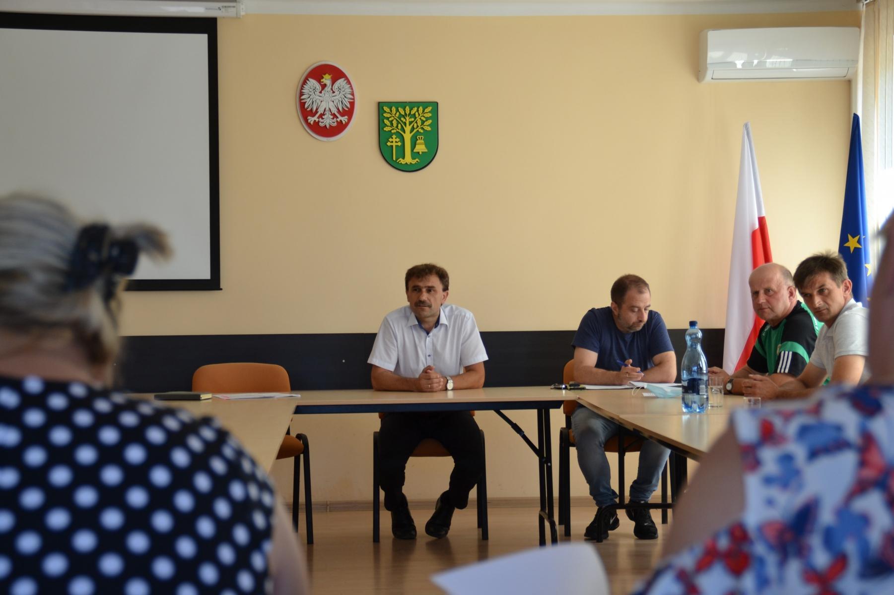 Spotkanie sołtysów z Wójtem gminy Malanów   - fot. UG Malanów