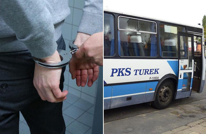 Po pijanemu ukradł autobus. Brak wyobraźni czy głupota?