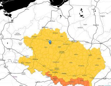 Intensywne burze nad powiatem tureckim. Ostrzeżenie IMiGW dla środkowej części kraju