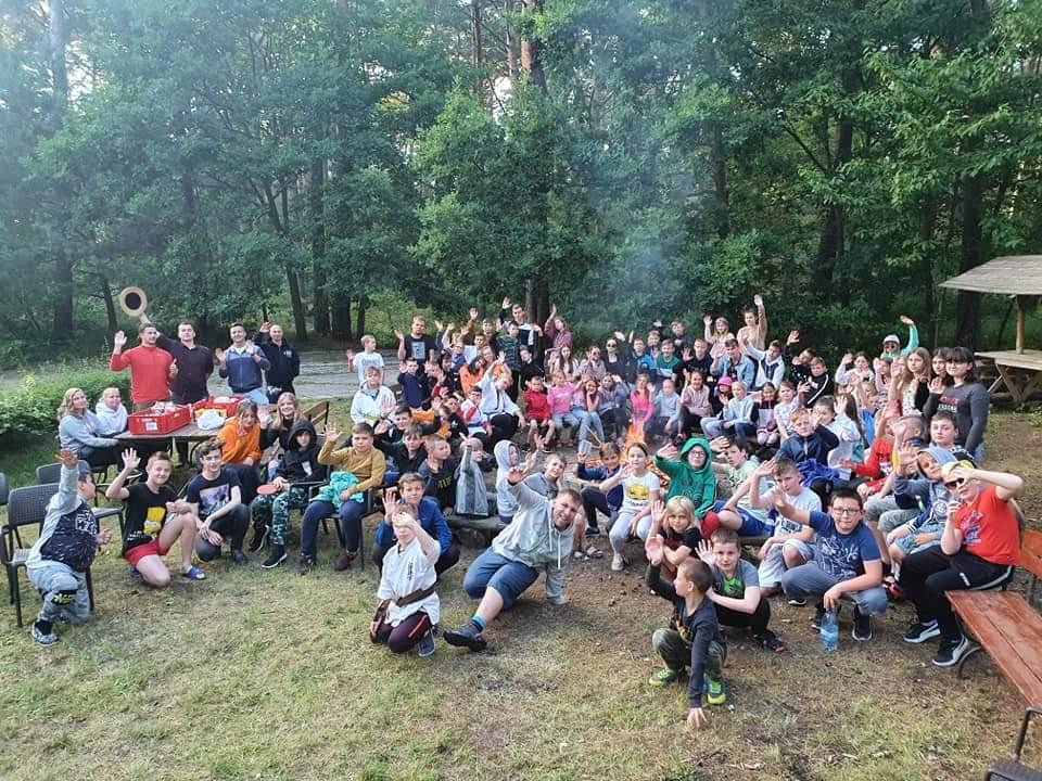 Foto: Sportowe wakacje zawodników KSiSW Turek i WKK Malanów