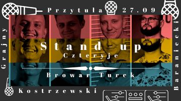 Stand-up w Turku. Kostrzewski Grajny Przytuła...