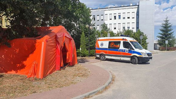 Koronawirus w Wielkopolsce. W Turku uruchomiono...
