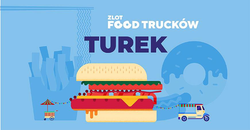 Zakończenie sezonu foodtruckowego w Turku. Smaczne pożegnanie lata na parkingu galerii Karuzela Turek