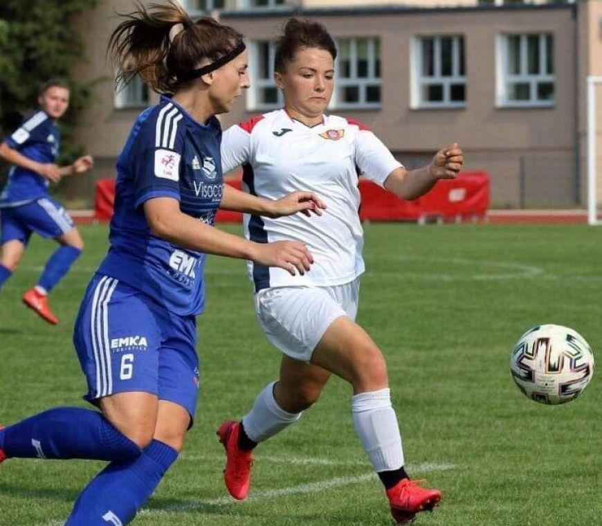 Debiut wychowanki LFA Turek Julii Olek w I lidze piłki nożnej kobiet!