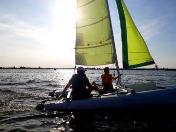 Pierwsze regaty Armor Sailing Windsurfing...