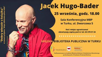 Jacek Hugo-Bader spotka się z czytelnikami w Turku