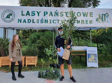 Udana akcja sadzenia drzew w Nadleśnictwie Turek.