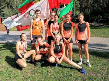 Medale dla UKS Sprinter Słodków na...