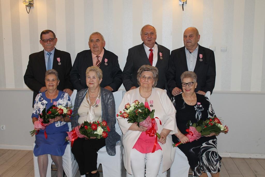 50-lecie par małżeńskich. Odznaczeni za miłość i wzajemny szacunek - foto Miasto Turek