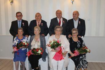 50-lecie par małżeńskich. Odznaczeni za miłość...
