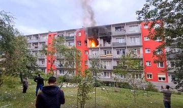 Wideo: Wybuch butli z gazem na Wyszyńskiego....
