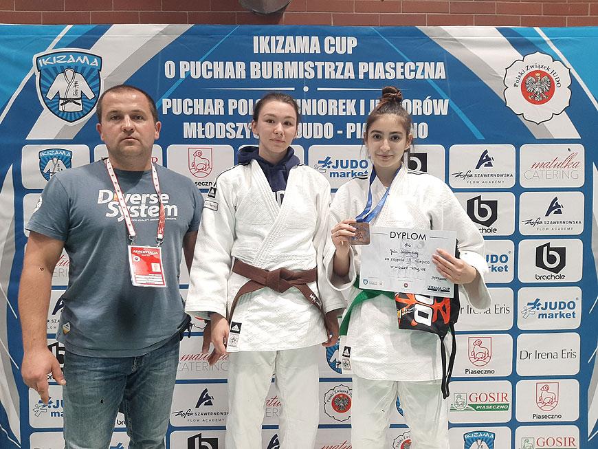 Zawodniczki UKS Judo Tuliszków walczyły w Pucharze Polski Juniorów Młodszych