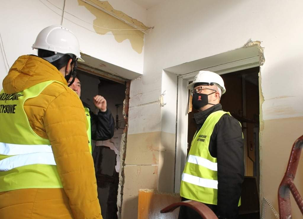 Inspektor Nadzoru Budowlanego wyklucza możliwość użytkowania 12 mieszkań na Wyszyńskiego.