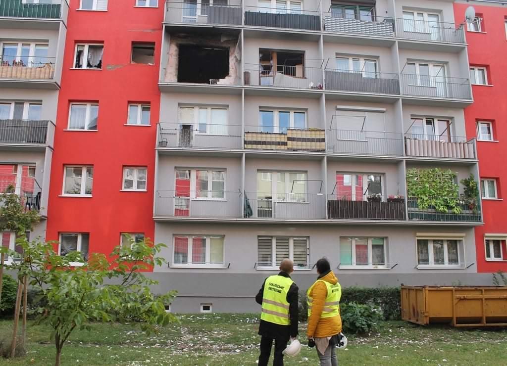 Miasto deklaruje pomoc poszkodowanym w wybuchu na Wyszyńskiego