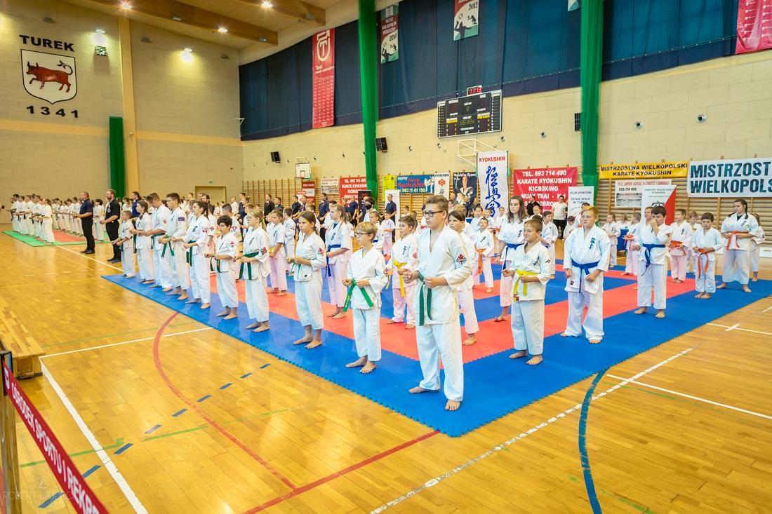 Walczyli w ramach Mistrzostw Wielkopolski Karate Kyokushin. Zawody w Turku na najwyższym poziomie