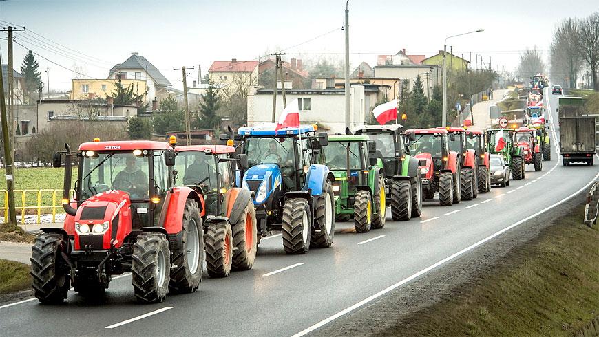 Rolnicy zablokują miasto. Jutro protesty w całym kraju także w Turku
