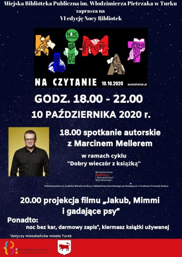 Marcin Meller gwiazdą Nocy Biblioteki