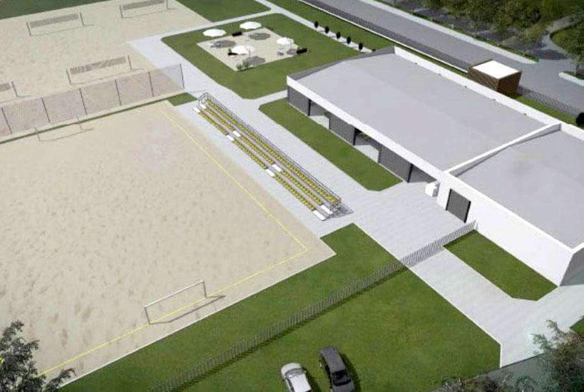 Miasto złożyło wniosek o dofinansowanie budowy Centrum Sportów Plażowych