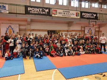 Zawodnicy klubu Striker na Seminarium w Wołominie