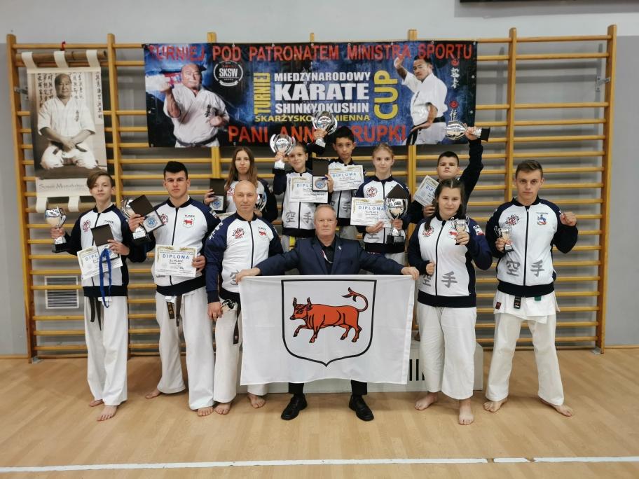 Karatecy z Turku na Międzynarodowym Turnieju Shinkyokushinkai Karate