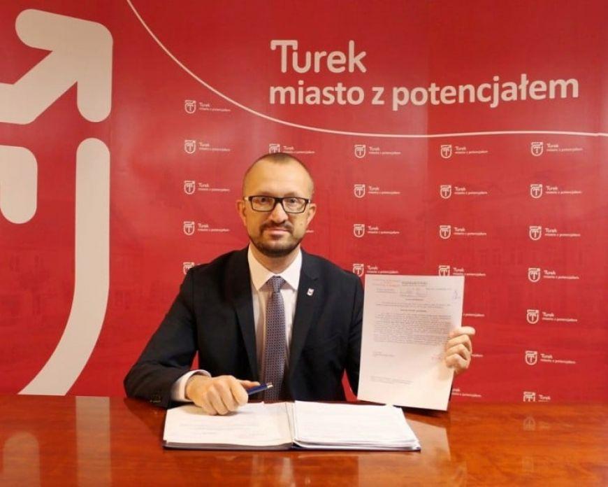 Oświadczenie Burmistrza Miasta Turek w sprawie szpitala