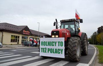 Rolnicy z powiatu ponownie w proteście...