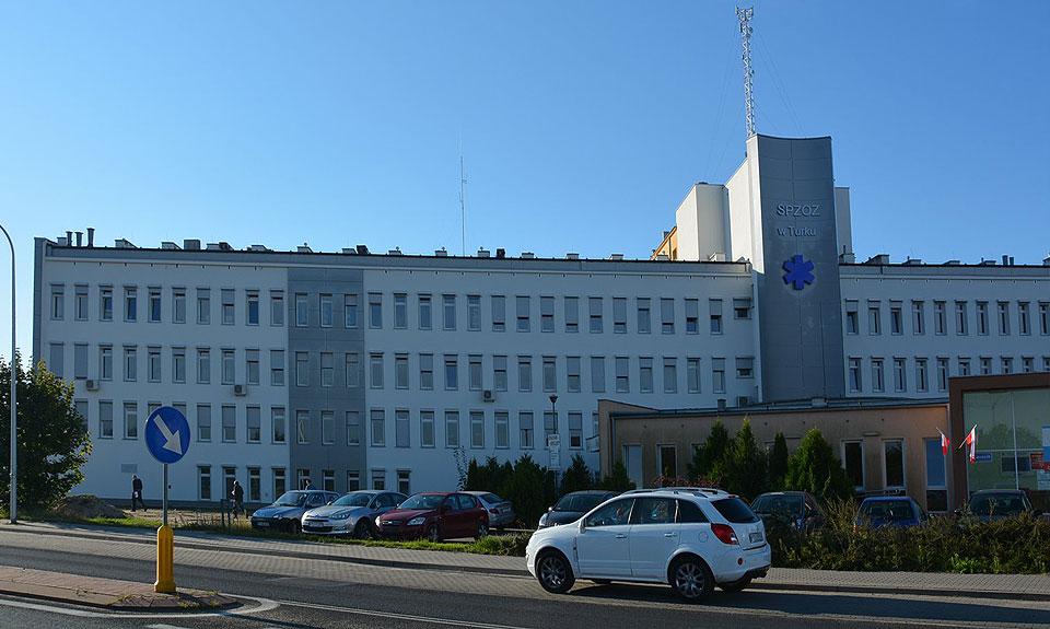 Nie będzie szpitala jednoimiennego w Turku. Wojewoda zmienia dyspozycje na oddział