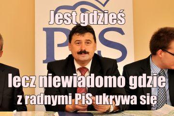 Politycy PiS zapadli się pod ziemię. Gdzie schował się Ryszard Bartosik?