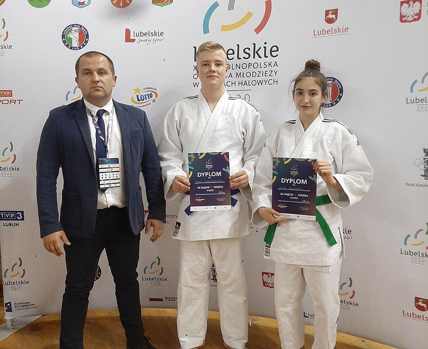 Zawodnicy UKS Judo Tuliszków na Ogólnopolskiej Olimpiadzie Młodzieży