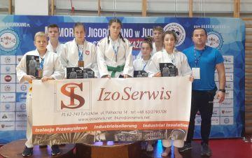 Zawodnicy UKS Judo na memoriale w Poznaniu