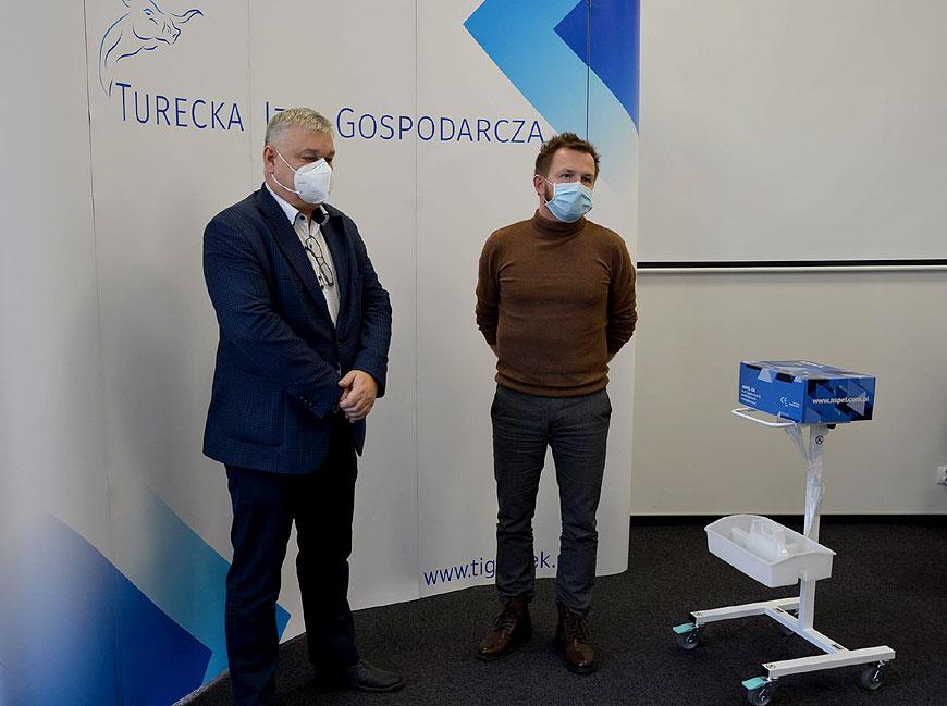 Nowy elektrokardiograf od turkowskich przedsiębiorców dla szpitala w Turku