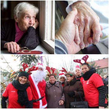 Wolontariusze apelują o pomoc dla seniorów w okresie Świąt Bożego Narodzenia