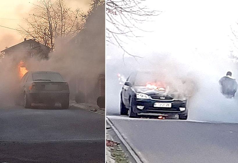 Wideo: Pożar samochodu osobowego z instalacją...