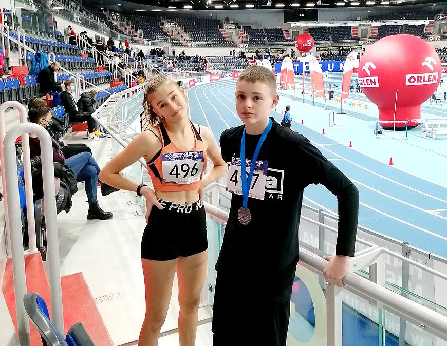 Dobry występ UKS Sprinter na zawodach lekkoatletycznych w Toruniu