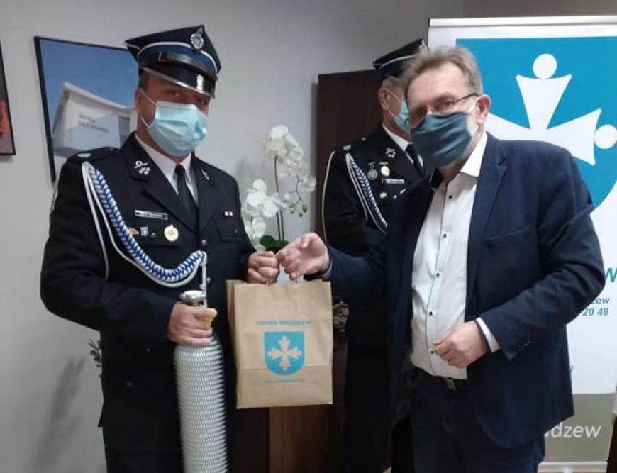 Gmina Brudzew wspiera lokalne jednostki straży pożarnej
