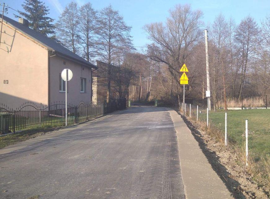 Nowa droga w Sarbicku. Kolejna w tym roku inwestycja w gm. Tuliszków zrealizowana