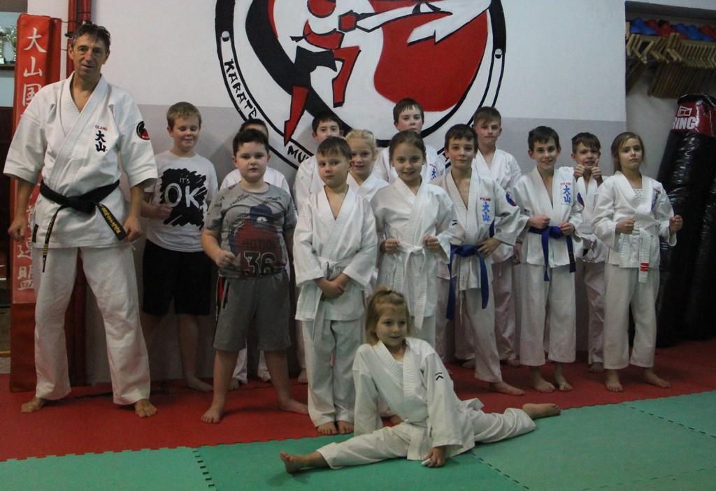 Egzaminy w Turkowskim Klubie Karate