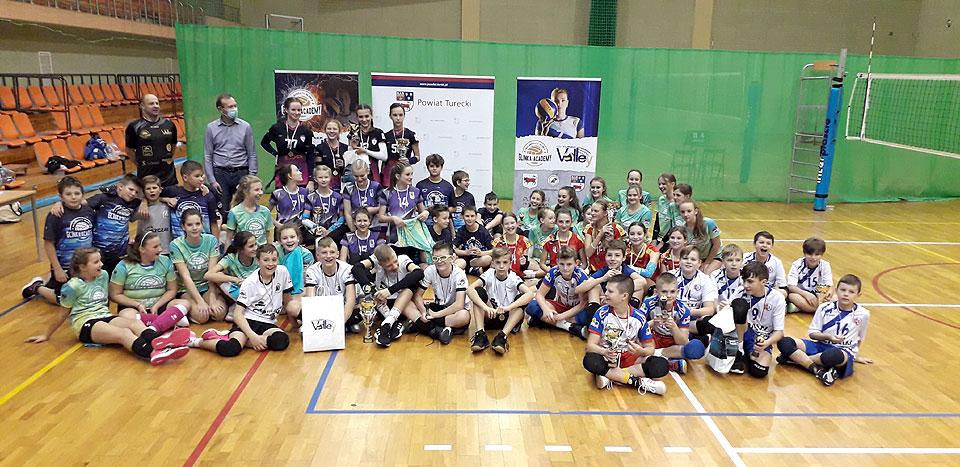 I Ogólnopolski Turniej Mini Piki Siatkowej o puchar Starosty Tureckiego