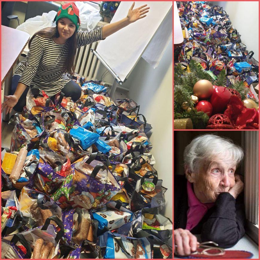 Świąteczna akcja Wolontariatu. Pomogli ponad 100 seniorom