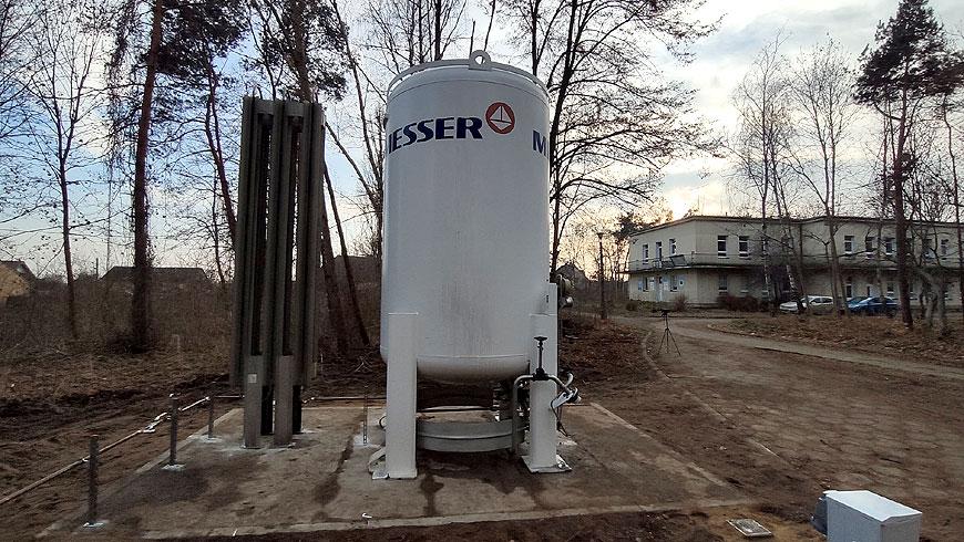 Zapas tlenu medycznego dla SP ZOZ w Turku zabezpieczony
