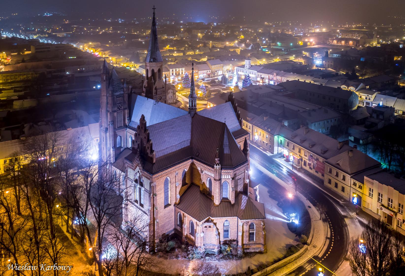 Boże Narodzenie w Turku A.D. 2020. Przepiękne zdjęcia świątecznego rynku i miasta z lotu ptaka